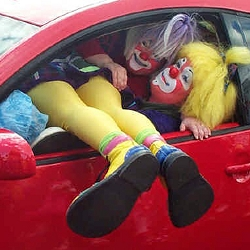 Riddler's Clown Car