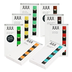 JUUL Pre-filled Replacement Pods (5% Nicotine Salt)